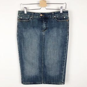 Refuge | Denim Pencil Skirt Juniors Size 5